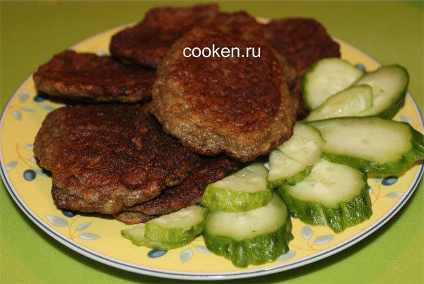 Как сделать печеночные оладьи из говяжьей печени