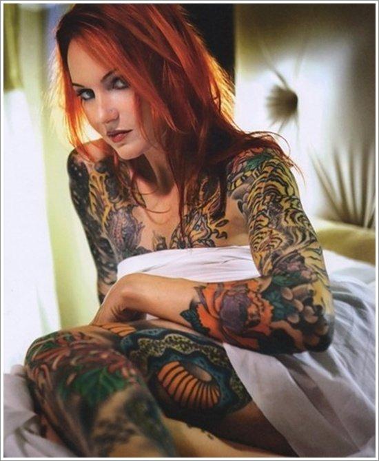 Cum covered tiny tits