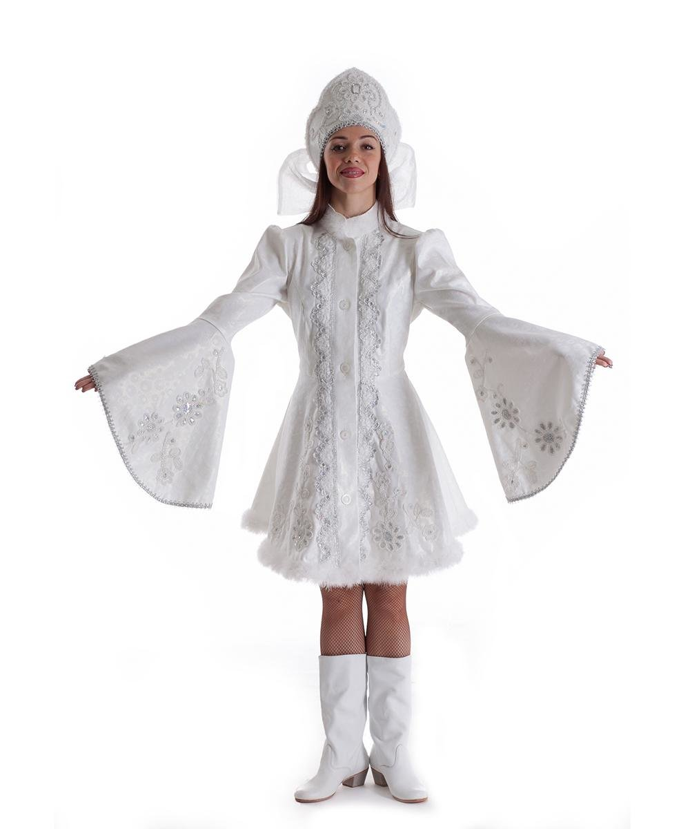 Картинки костюма снегурочки своими руками фото