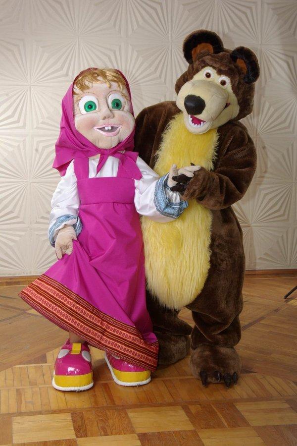 Сделать куклу медведя