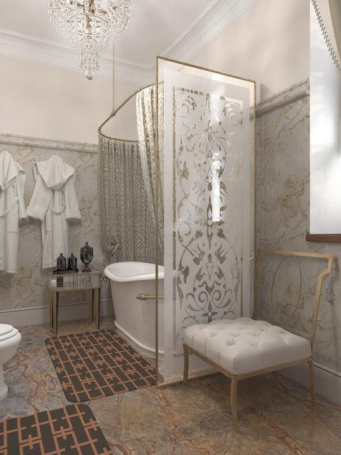 ширма в ванной