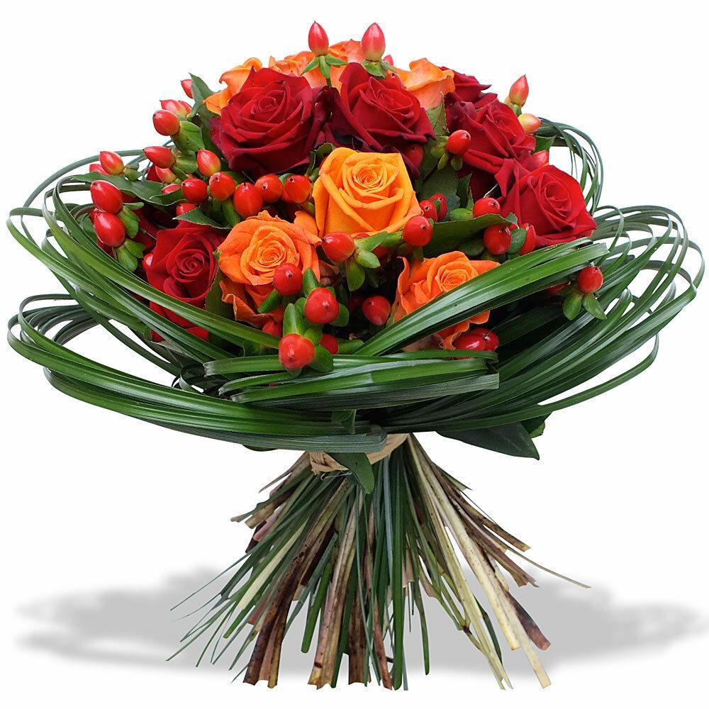 Открытка букет цветов мужчине
