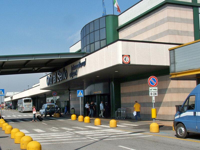 Аэропорт в Бергамо