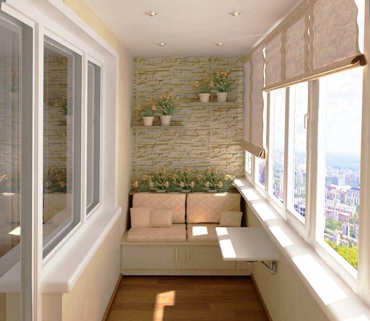 """Уютные идеи интерьера для маленького балкона"""" - карточка пол."""