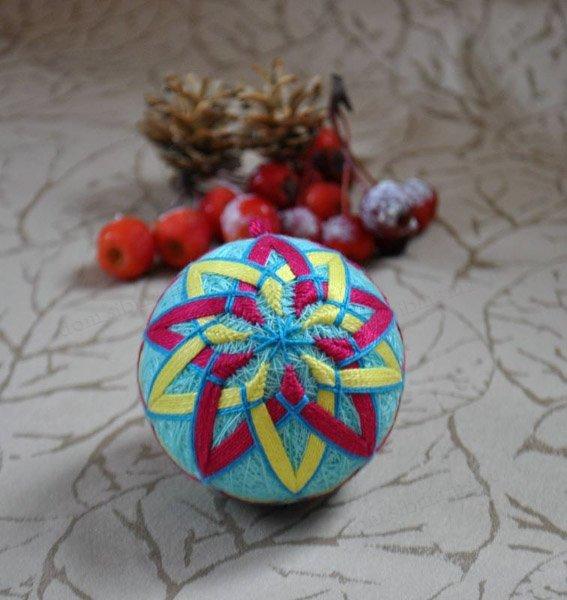 Темари слово японского происхождения, и переводится как «шар из ниток» или, совсем по простому – «клубок»