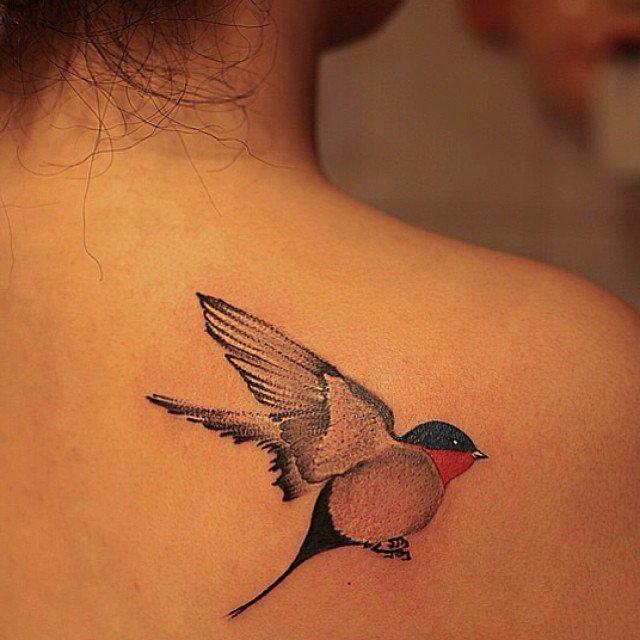 Птицы татуировки и их значение