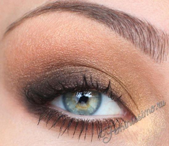 Варианты макияжа для серо-зеленых глаз фото