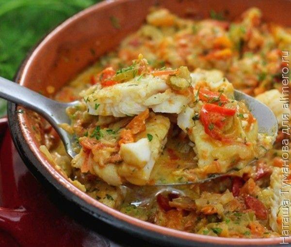 Рыба в горшочке с картошкой рецепт фото