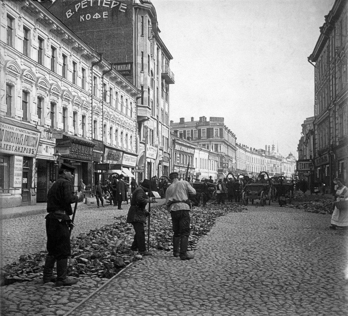 Старые фотографии улицы коммуны это