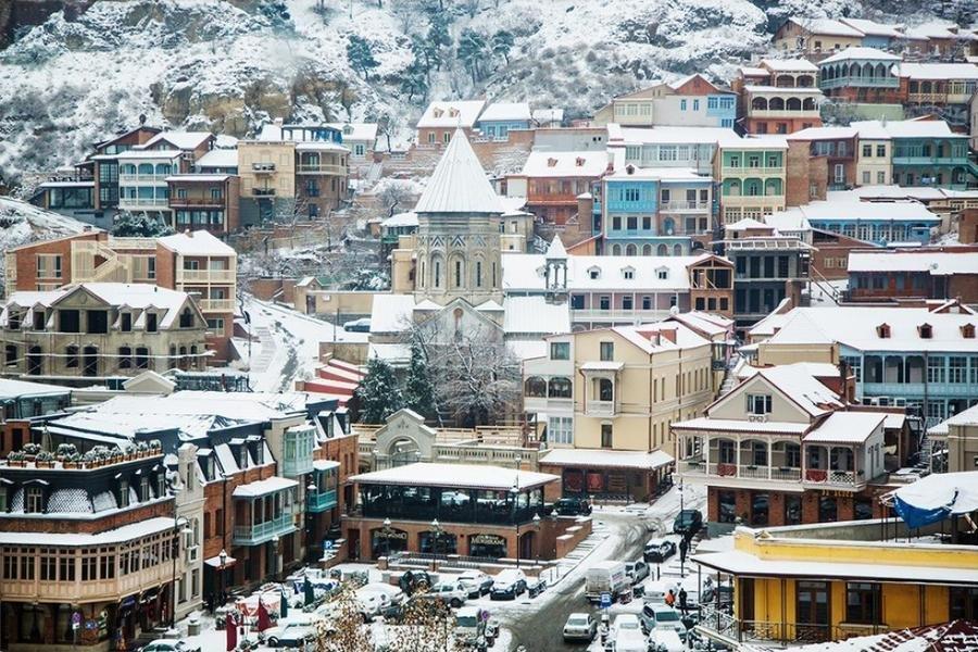Днем, картинки тбилиси зимой