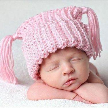 23 карточки в коллекции вязаные шапочки для малышей пользователя