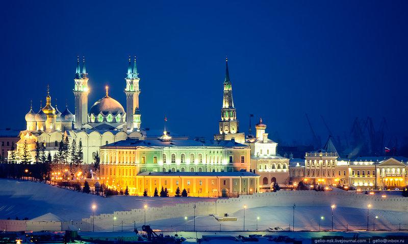 Казанский Кремль. Достопримечательности на Новый год