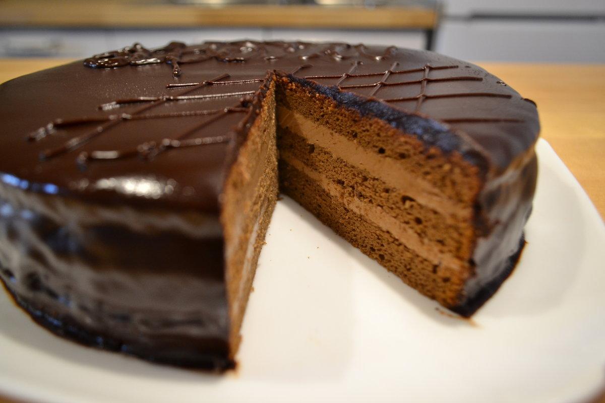 фото торт рецепт прага пошаговый