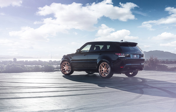 Land Rover Range Rover, sport дрифт