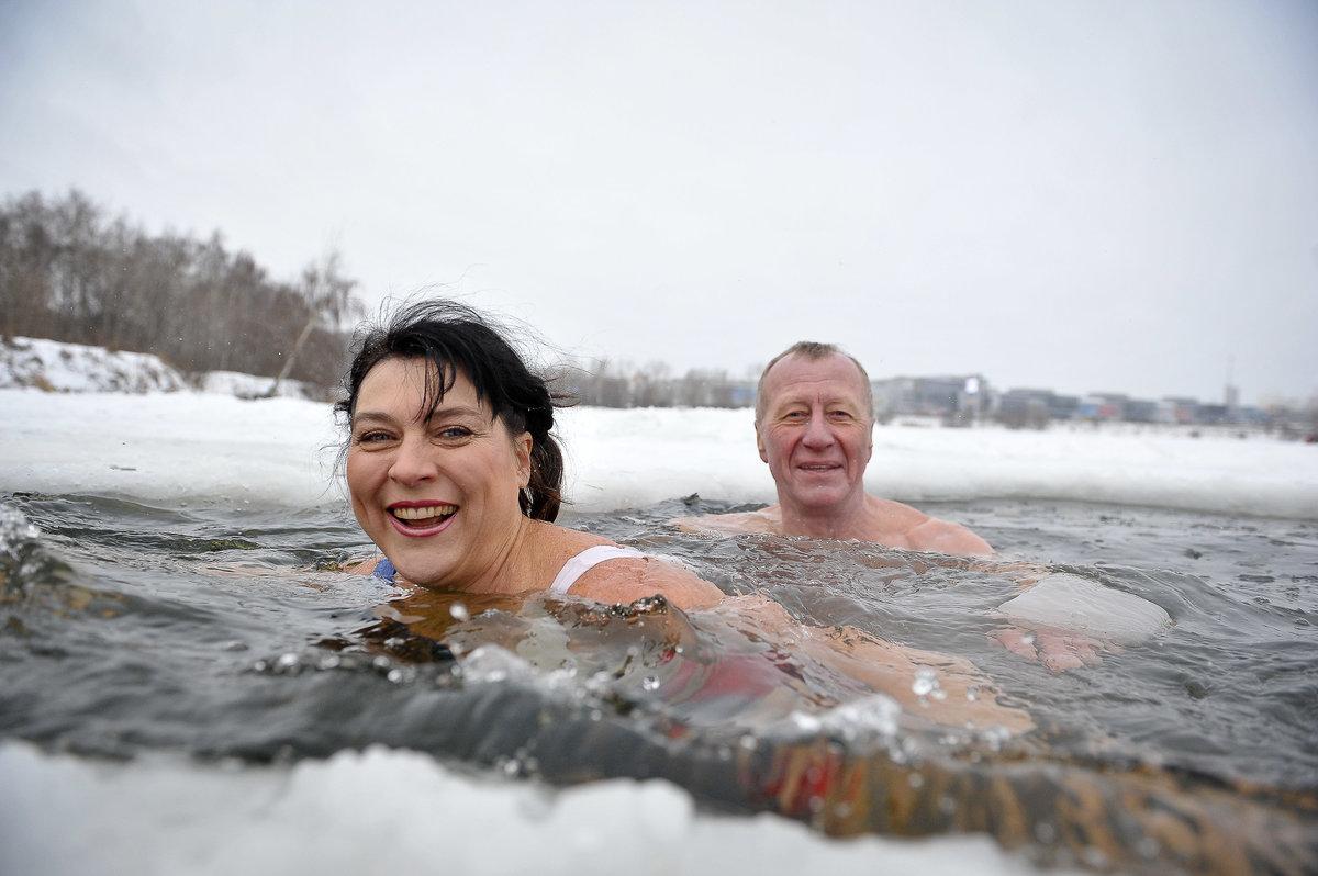 зимние купания фото эффектных запоминающихся