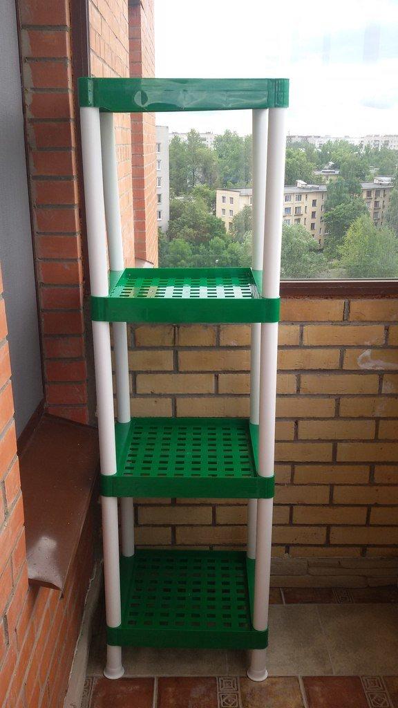 """Зеленый стеллаж на балкон"""" - карточка пользователя dashasnop."""