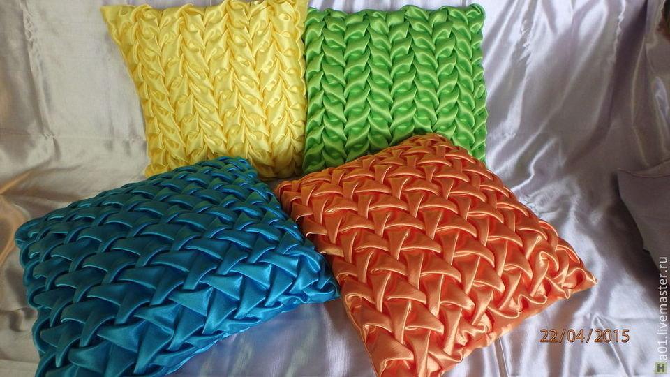 прекрасную буфы на подушках схемы фото видно, что