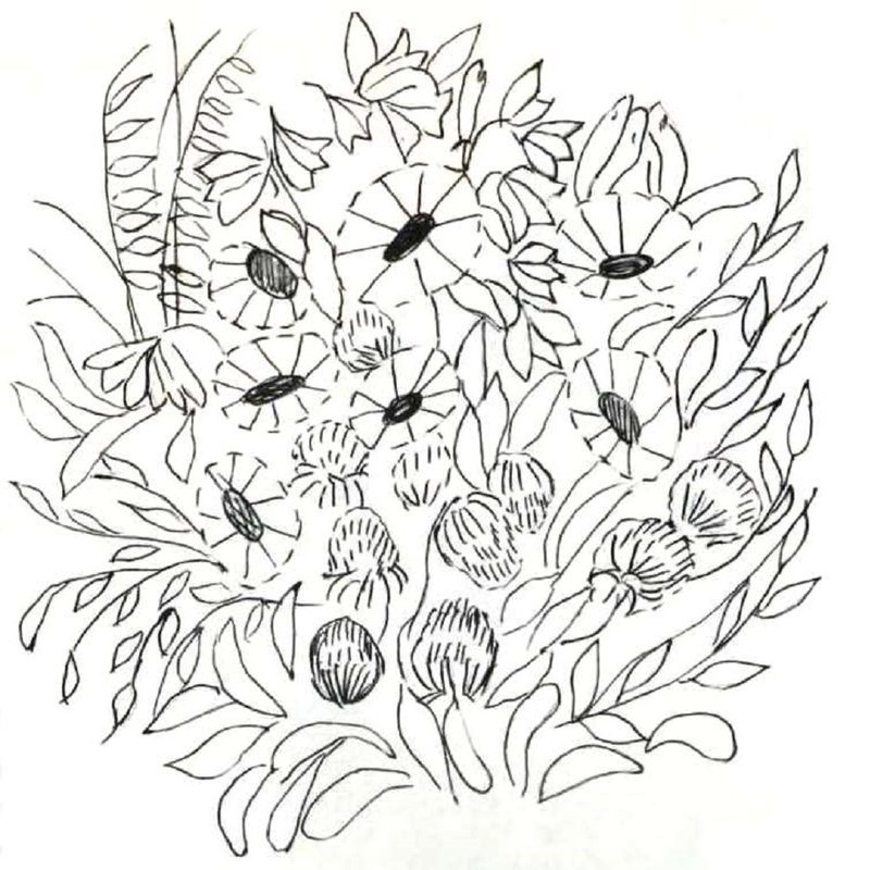 Вышивка цветов лентами : схемы. Вышивка цветов лентами для