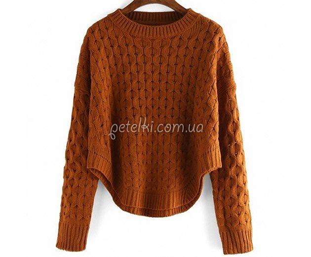 как связать свитер женский женских половых