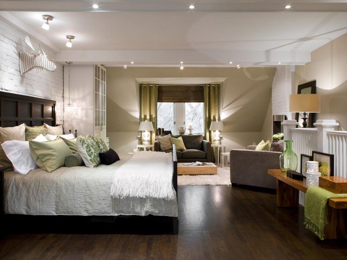 Спальные комнаты фото работ дизайнеров