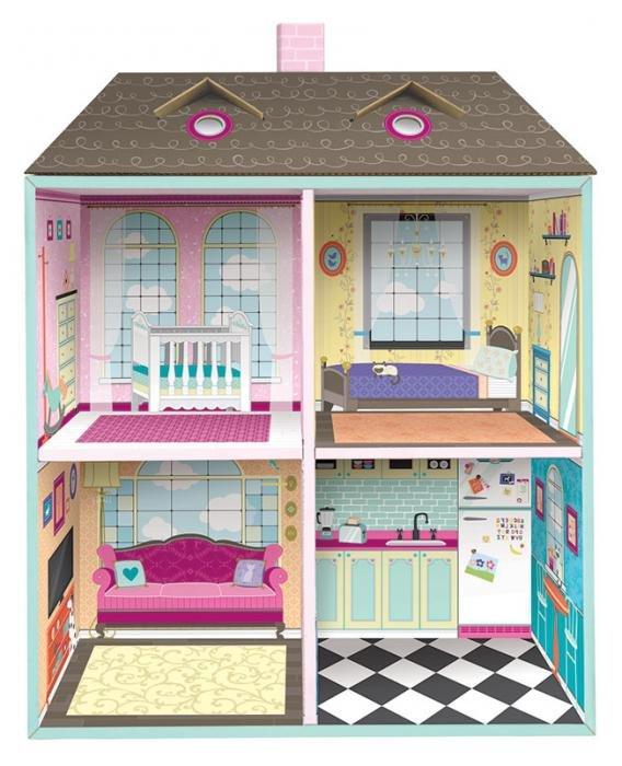 картинки дома для кукол внутри используют для зонирования