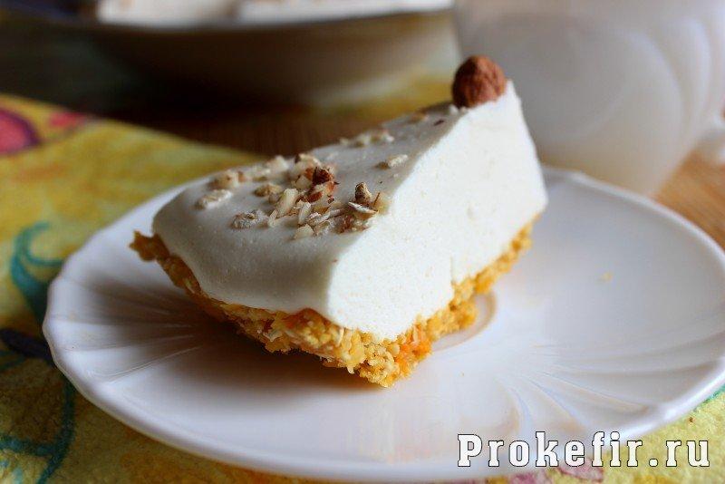 чизкейк без творога рецепт с фото