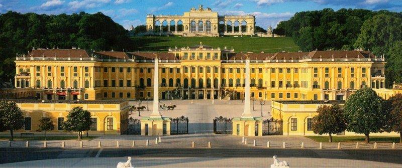 Дворцово-парковый комплекс Шенбрунн (Вена)