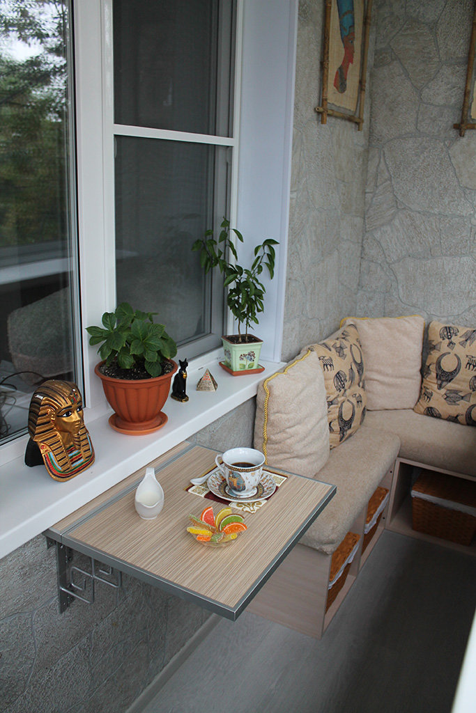 "Интерьер маленького балкона"" - карточка пользователя irina.b."