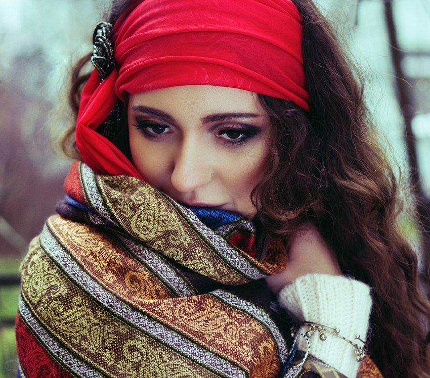 образ цыганки фото