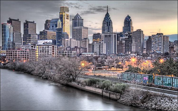 Зима в Филадельфии