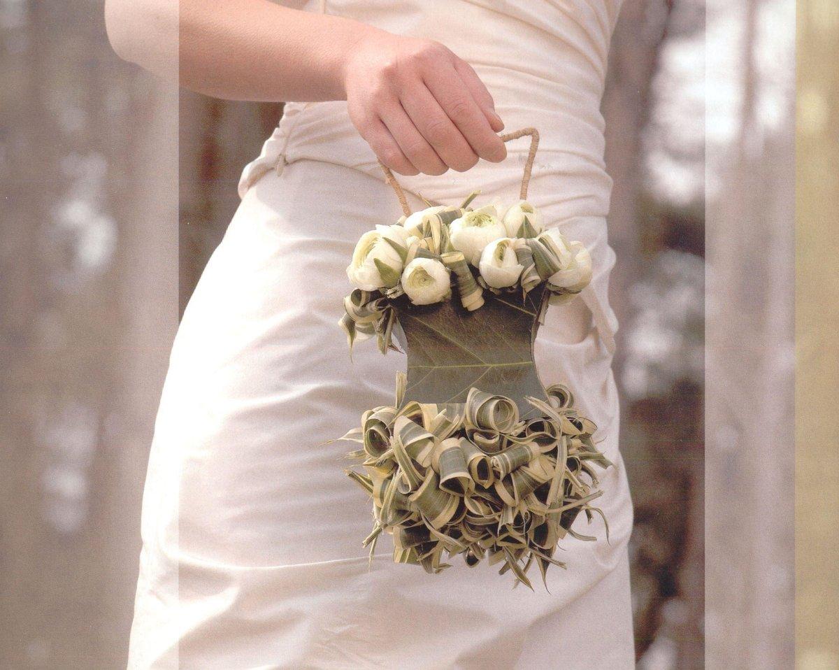 Букет для беременной невесты своими руками из живых цветов