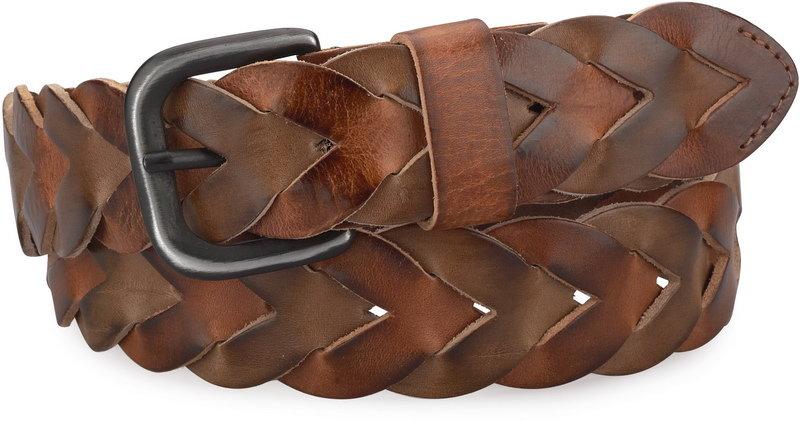 Ремни плетеные кожаные реклама мужских ремней