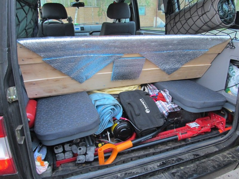 Раздел Эстетический тюнинг  на форуме Ford-Trucks-Club форум тема: Оптимизация пространства багажника и организация спального места