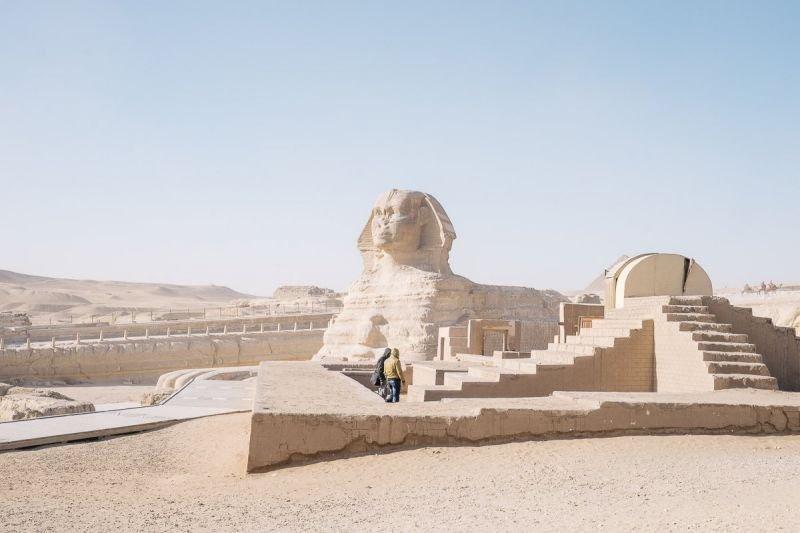 Знаменитые египетские достопримечательности без туристов (14 фото ... Знаменитые египетские достопримечательности без туристов (14 фото)