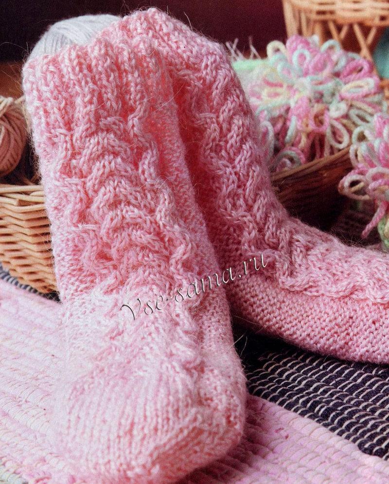 Детские пинетки и носки спицами или крючком - Наша Пряжа