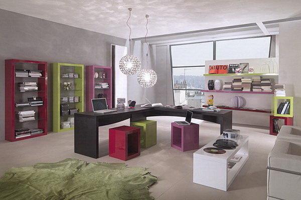 Стильное декорирование гостиной комнаты