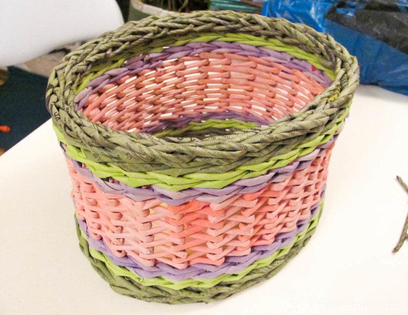 Пример плетения