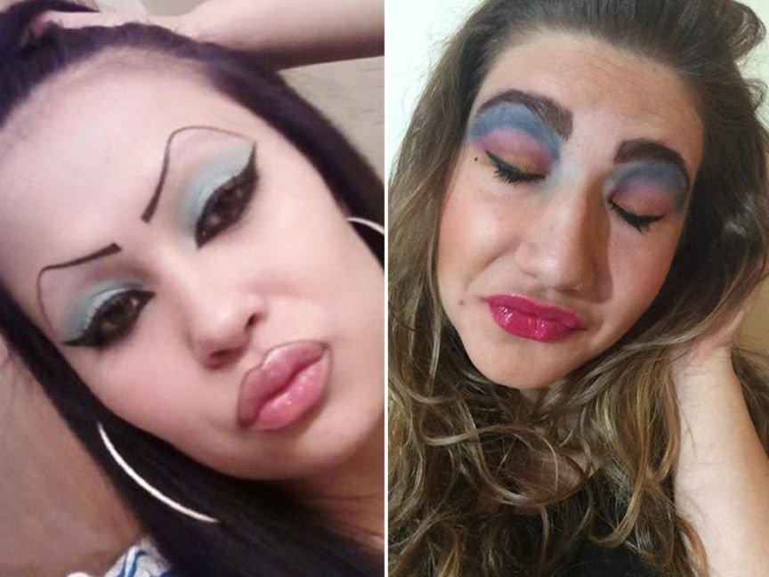 extreme makeup fails - 864×648
