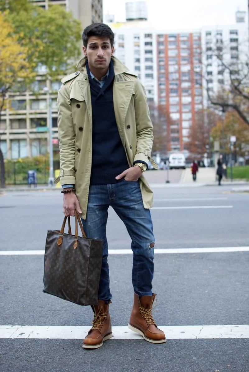 установить водяной с чем носить мужские высокие ботинки малину