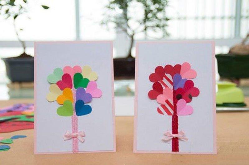 Как сделать открытку в подарок ребенку, годовщина