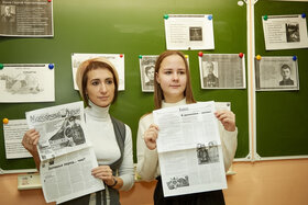 Классный час о блокаде Ленинграда, героях Великой Отечественной войны.