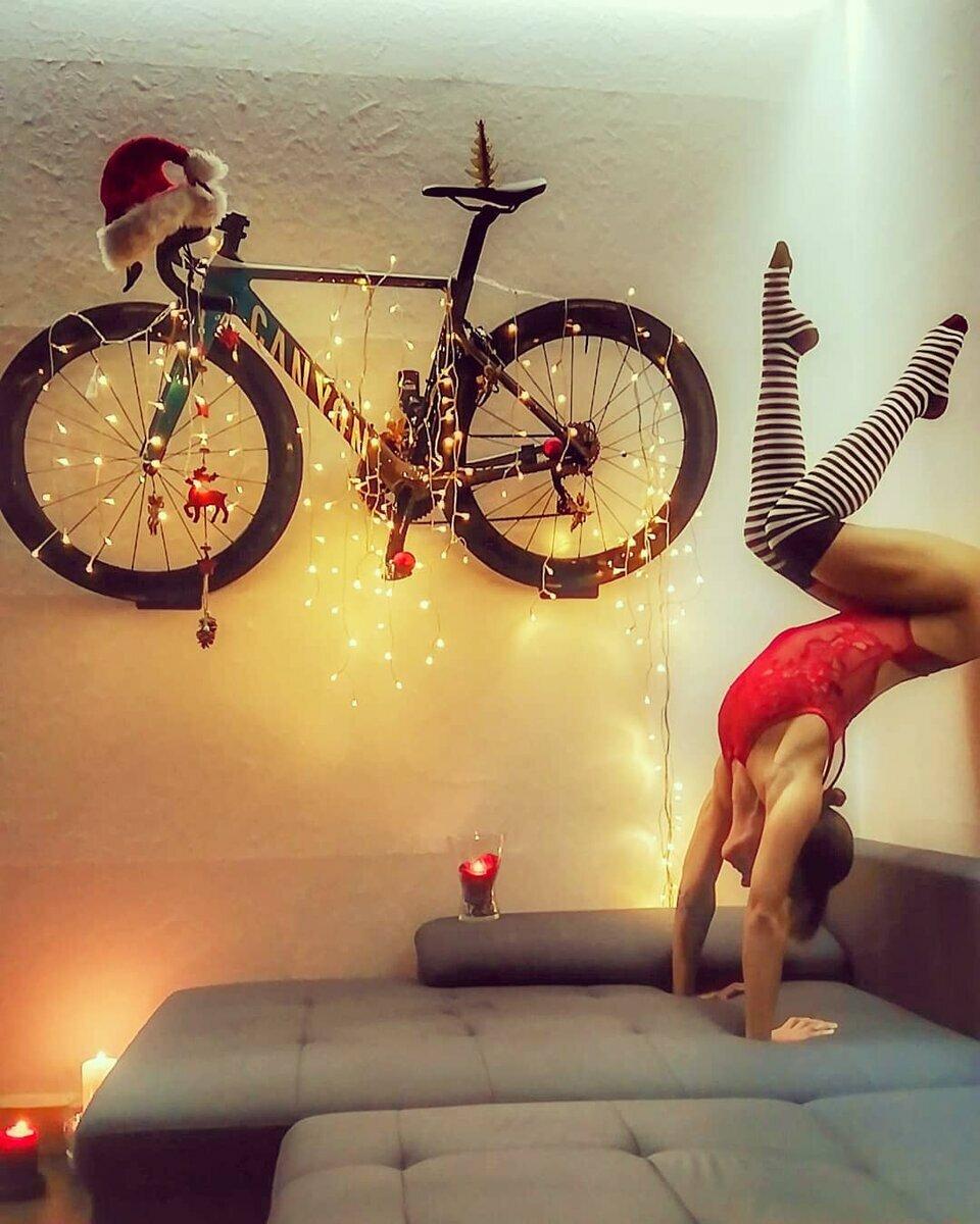 утро на велосипеде веселые картинки писал