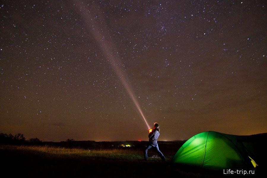 можно подавать параметры фотографирования звездного неба юных лет