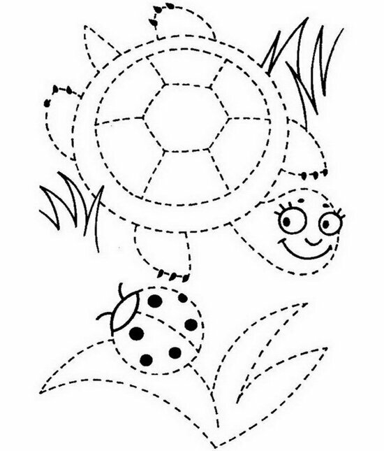 «Зачарованный мир: Раскраски - обводилки для детей 6-7 лет ...