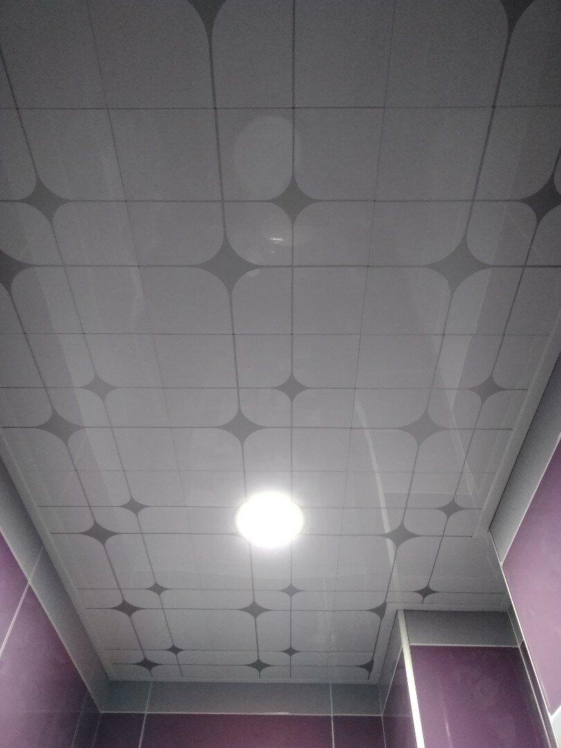 Кассетный потолок №4