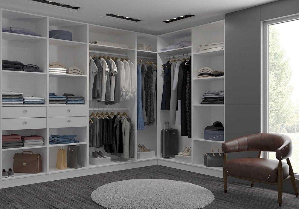 целью проекты гардеробных комнат фото самого