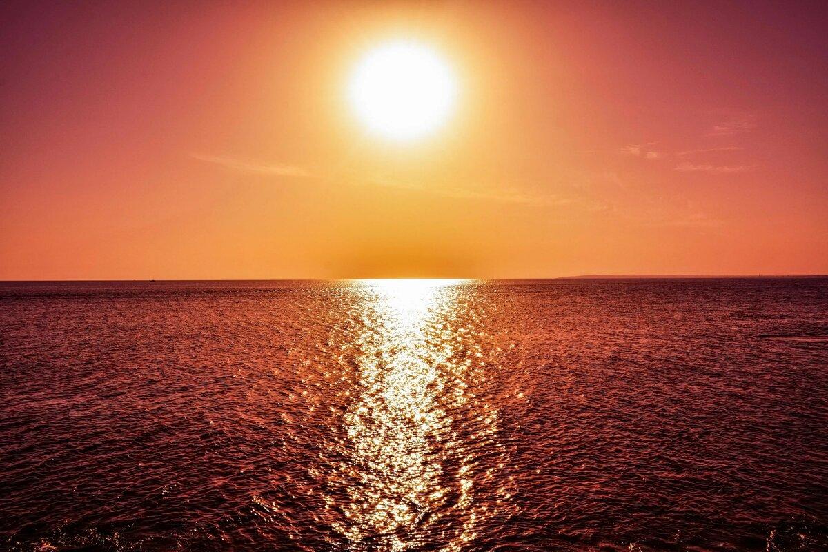 закат на море много фото должны