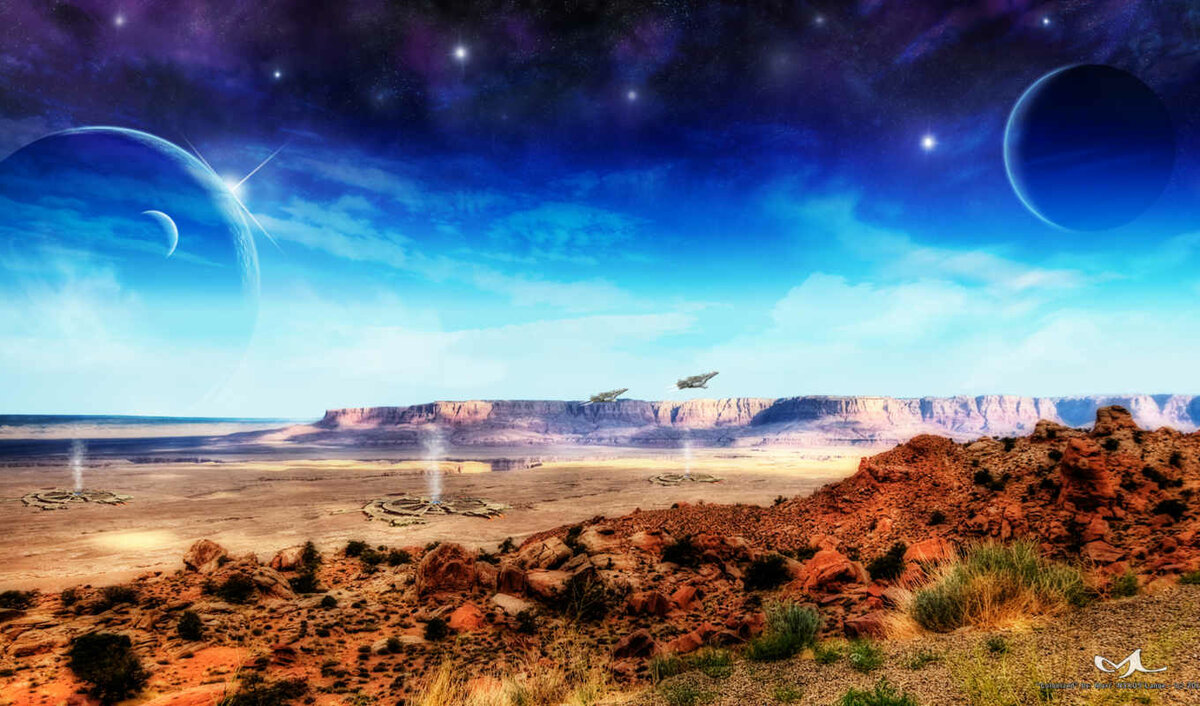 вас картинки пейзажи планеты рецепт кефирного