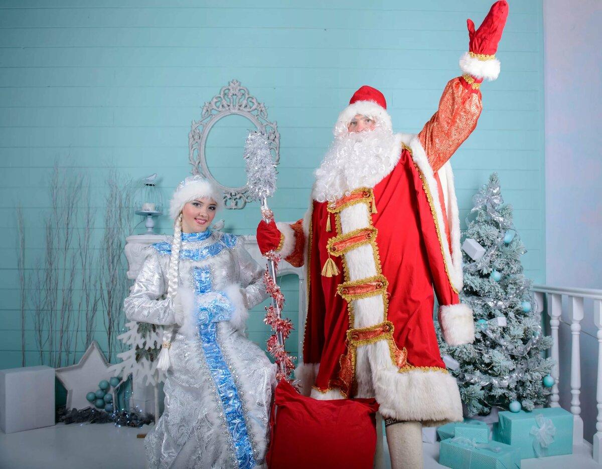 Новогодние картинки русского деда мороза
