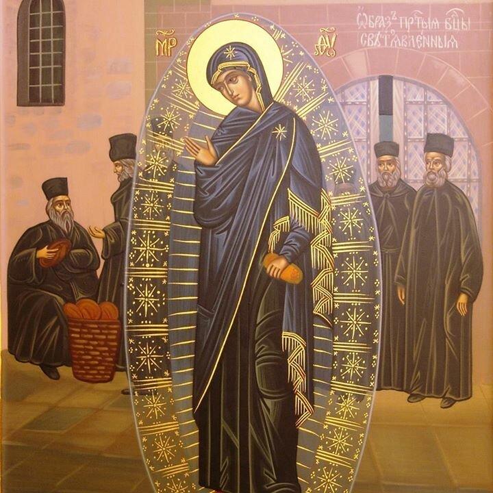 богородица явилась на фотографию афонских монахов выглядят виды сорта